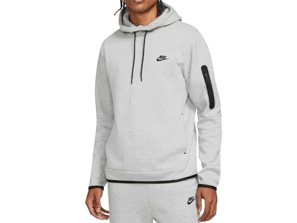 Nike fleece hoodie.