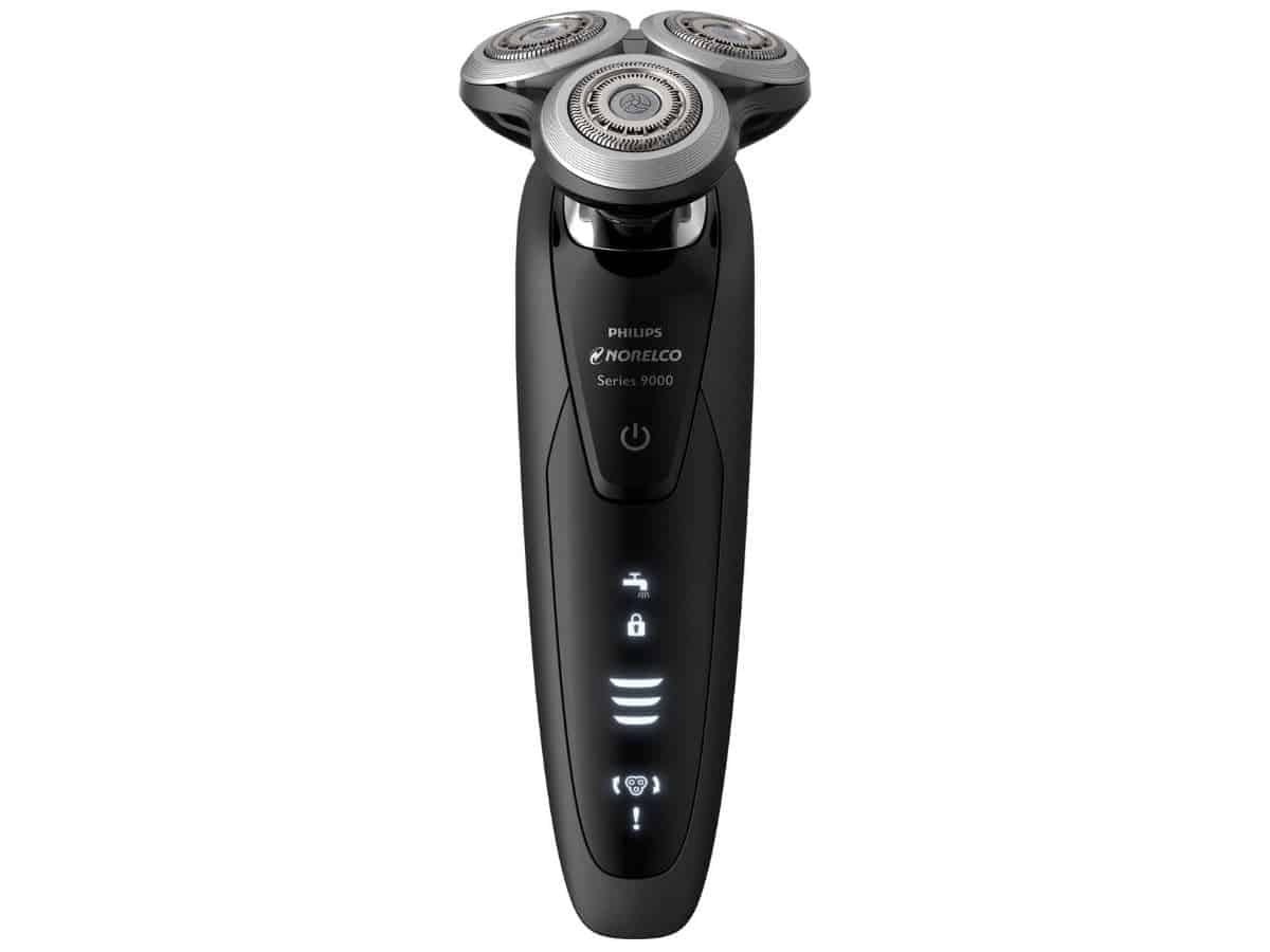 Philips Norelco Series 9000 electric shaver.