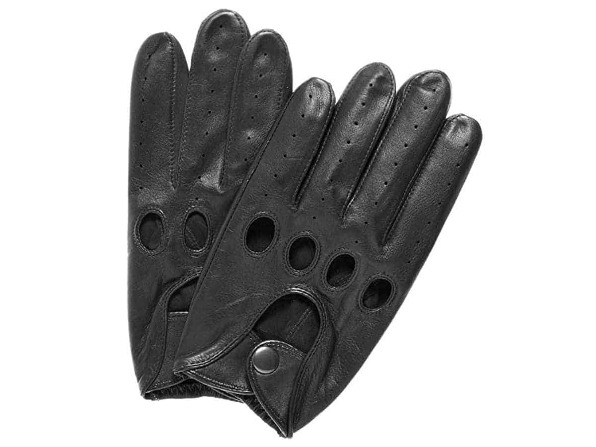 Pair of Pratt and Hart leather driving gloves.