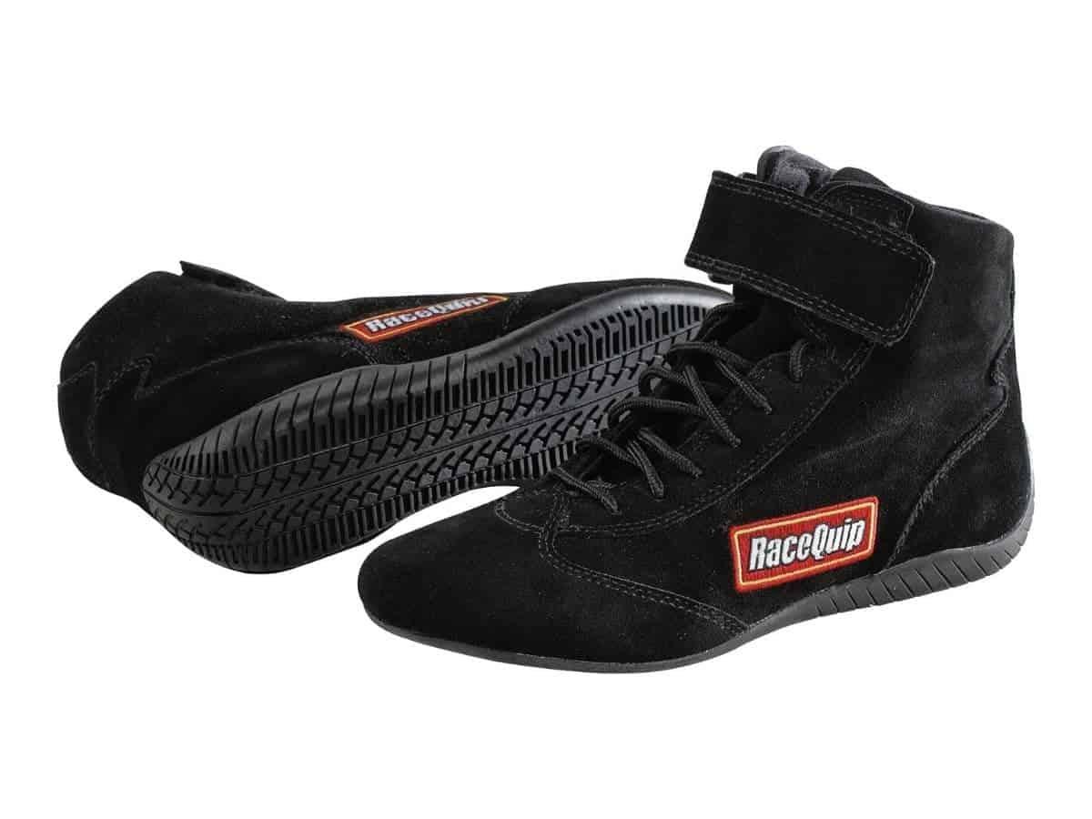 Pair of RaceQuip racing shoes.