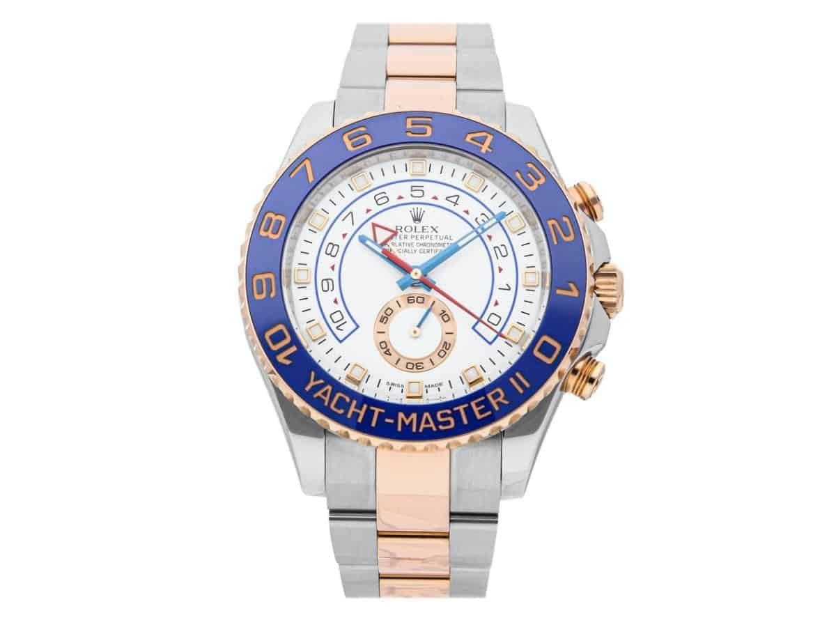 Rolex Yacht-Master II watch.