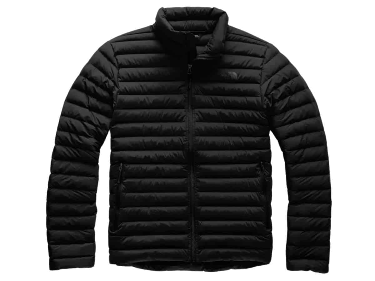 The North Face down puffer jacket.