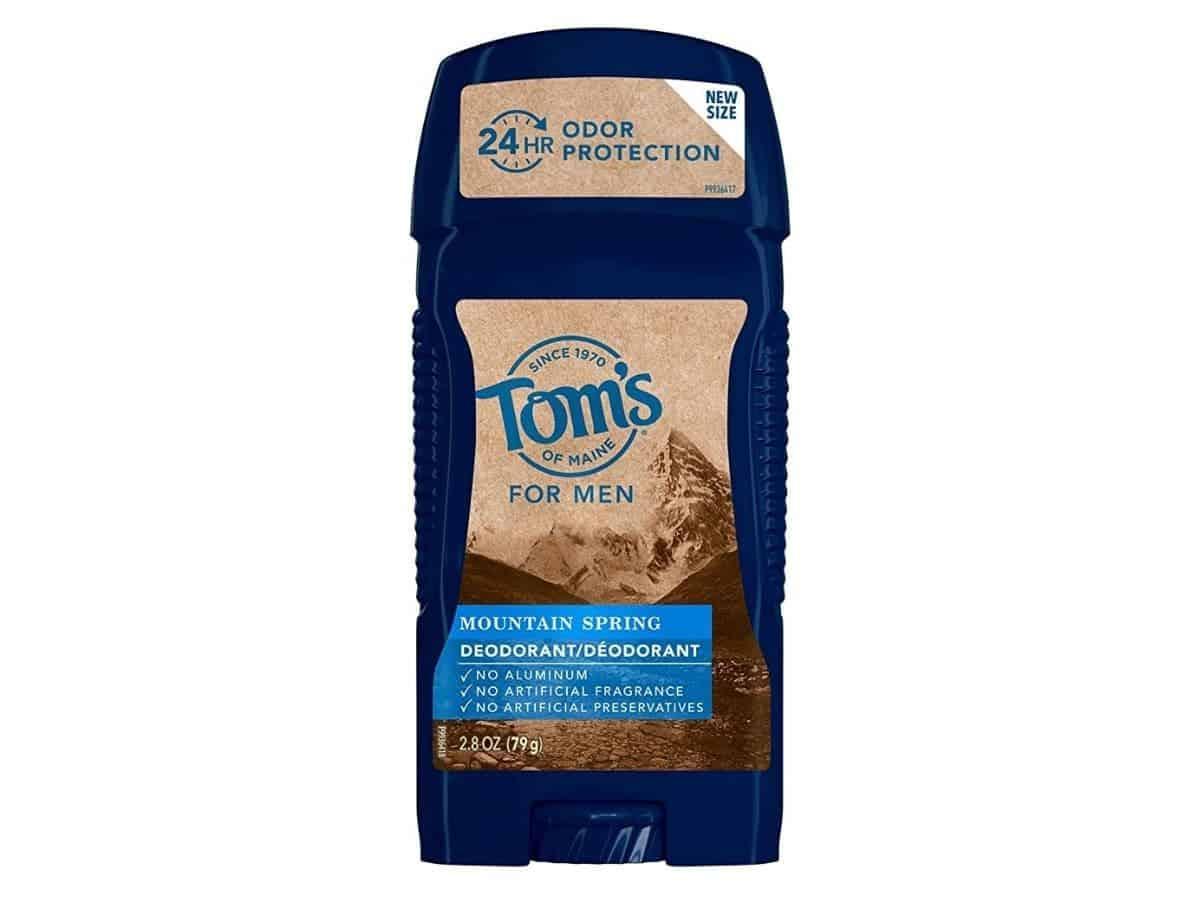 Tom's of Maine deodorant.