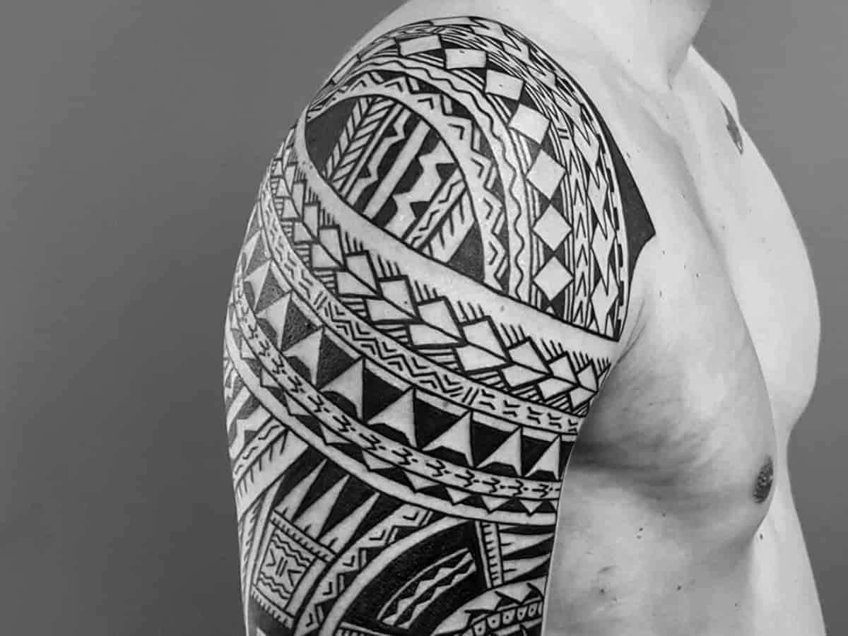 20 cool shoulder tattoos for men   Next Level Gents